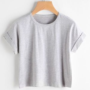 { Garnet Hill } Cropped T Shirt